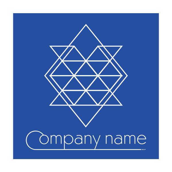花びらの模様のロゴ