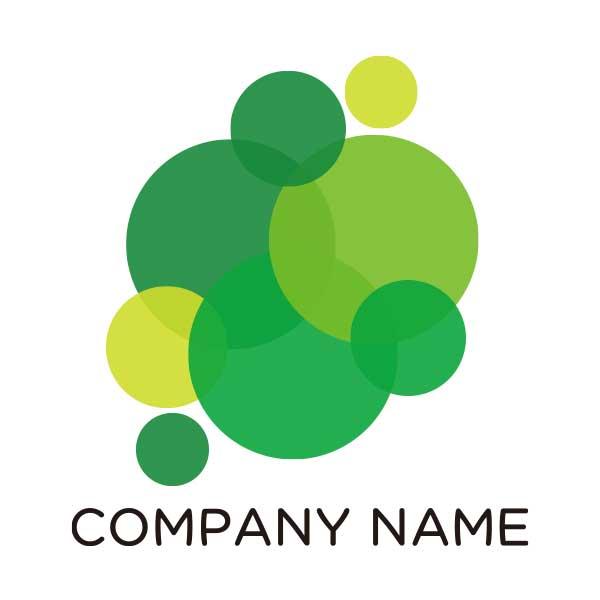 シンプルなドッドのロゴ