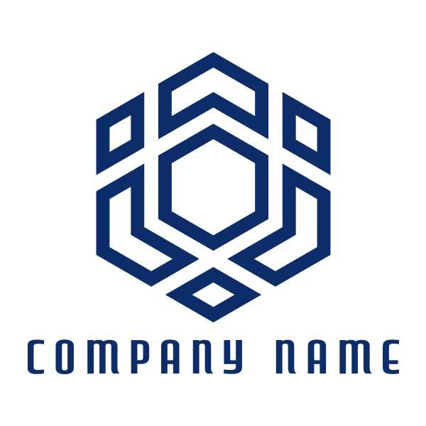ロゴ作成NO.45/窓がモチーフのロゴ