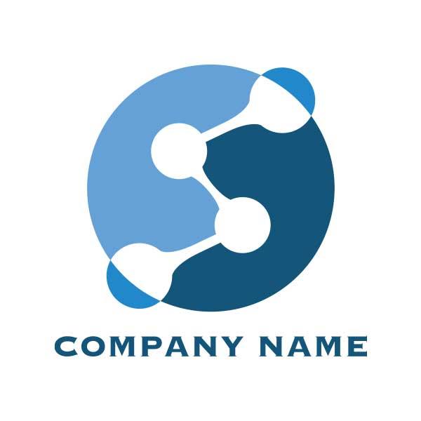 繋がりを表現したのロゴ