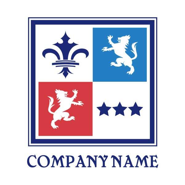 ロゴ作成NO.58/ヨーロッパ系エンブレム