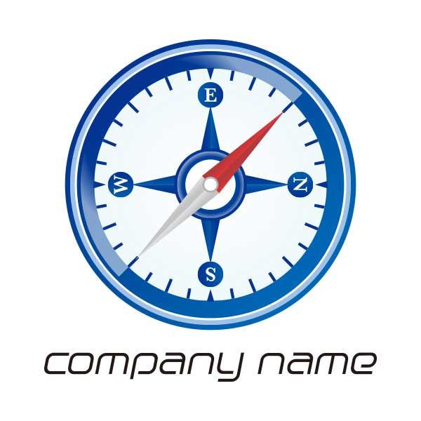 ロゴ作成NO.60/コンパスのアイコン