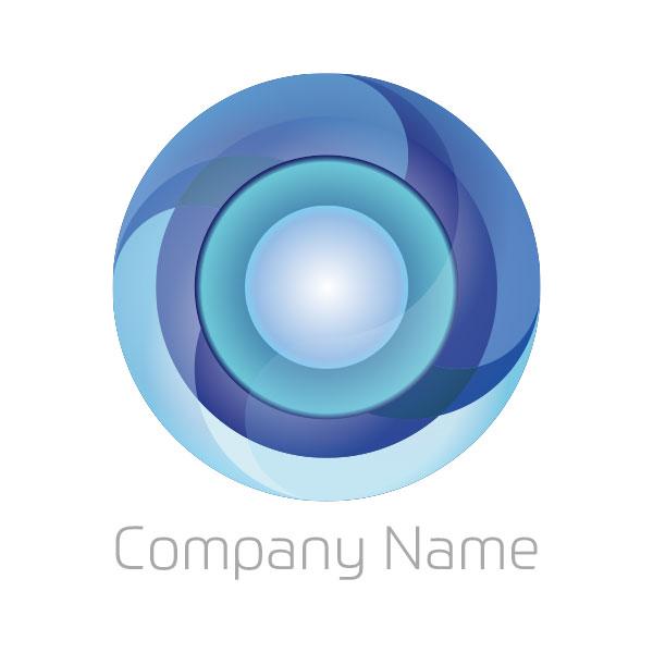 繋がりを表現したロゴ