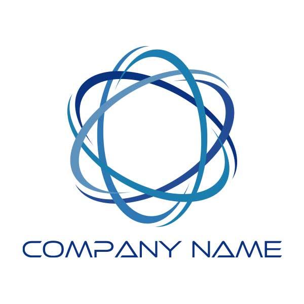 ロゴ作成NO.78/繋がりがモチーフのロゴ