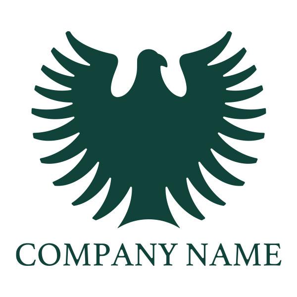ロゴ作成NO.83/鳥のエンブレム