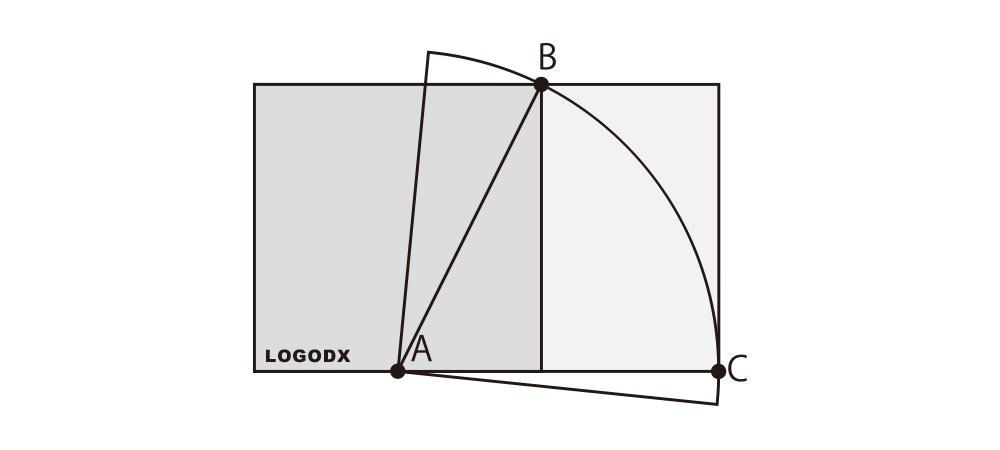 LOGODXが黄金比を簡単解説